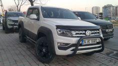 Volkswagen Amarok Ön Koruma Bullbar Krom ve Siyah