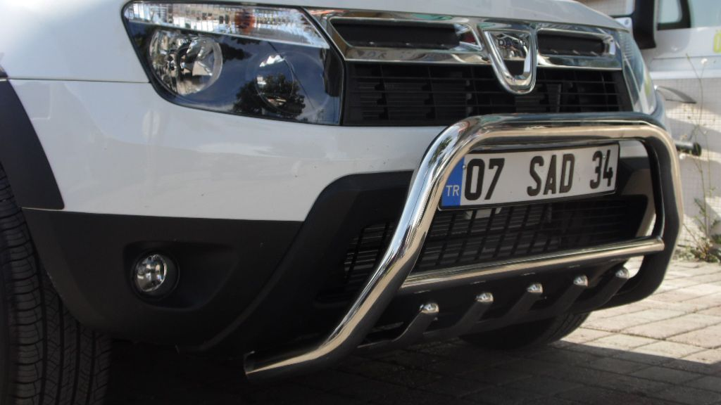 Dacia Duster 214 N Koruma Demiri Krom Bullbar Tamsan 4x4