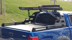 Ford Ranger AQM4WD Option Replica Rollbar