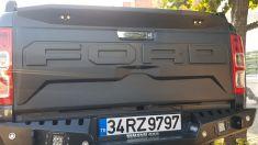 Ford Ranger Bagaj Koruma Plastiği-Işıklı