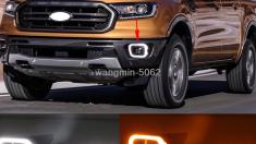 Ford Ranger XLT Led Işıklı Sis Çerçevesi