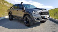 Ford Ranger Ön Panjur Siyah