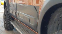 Ford Ranger Yan Kapı Kaplama Gövde Koruyucu Geniş model