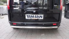 Ford Transit Custom Arka Koruma Krom