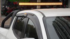Led Bar 105 Cm Flashlı 240W Delici-Yayıcı Çift Sıra Cree Led