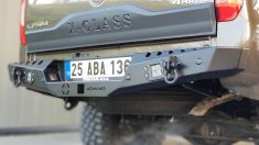 Mercedes X Class AQM4WD Option Replica Çelik Arka Tampon