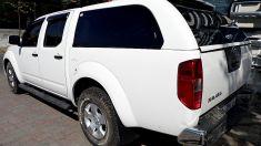 Nissan Navara Camlı Kabin Hardtop Kasa Kapama