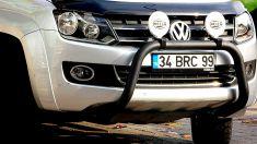 Volkswagen Amarok Ön Koruma Demiri Bullbar Siyah