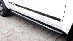 Volkswagen Amarok Canyon Yan Basamak Kaya Kaydırıcı 76mm