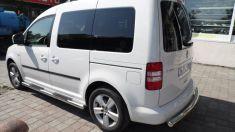 Volkswagen Caddy Arka Koruma Krom